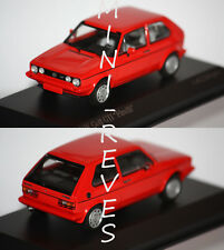 Volkswagen VW Golf GTI 1977 Red 1 43 Model Minichamps