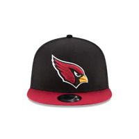 Mens New Era 9Fifty Red/Black NFL Arizona Cardinals Basic Snapback
