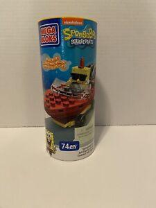 Mega Bloks SpongeBob Squarepants Boat Racer New 73 Pieces.