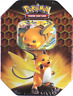 Pokémon TCG Sealed Raichu GX Hidden Fates Tin