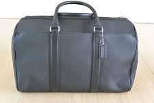 NWT Coach LSF Duffle Bag in Black Leather