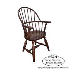 Frederick Duckloe SMALL Diminutive Salesman Sample Size Windsor Arm Chair
