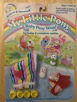 NEW My Little Pony Baby Wear Jumper & Snowsuit 2 Special Friends Hasbro1985 NOS