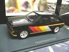 Opel Kadett C City irmscher tuning 1978 s Black neo highenddetail resin lim 1:43