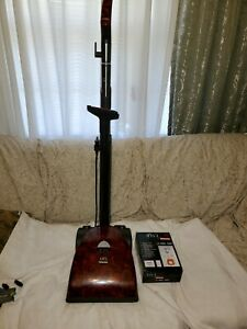 Meile Art Red Roses Upright Vacuum  (For Parts)With 4 bags