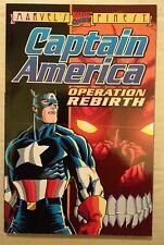 Captain America Operation Rebirth (1996) #1 Marvel Comics Mark Waid TPB NM