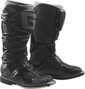 Gaerne SG-12 Boots Black Premium MX Enduro BMX MTB Riding Protection All Sizes
