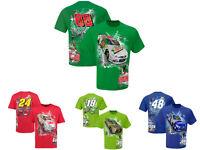 Nascar Men's Checkered Flag Hot Wired T-Shirt - Pick Driver