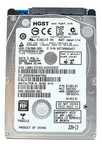 "Hitachi HTS545050A7E380 2.5"" Hard Disk HDD 5400 RPM 500 GB"