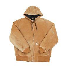 CARHARTT Hooded Chore Jacket | Workwear Work Vintage Hoodie Duck Coat Zip