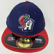 NEW San Antonio Missions Fitted Hat 7 5/8 Cap MILB MLB Baseball Padres Brewers