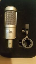 Heil PR40 dynamic broadcast mic w/ Heil Endfire, Element Studio Mic & Case