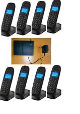 Telefonanlage für 8 x Schnurlos Siemens Swisscom E514 Top