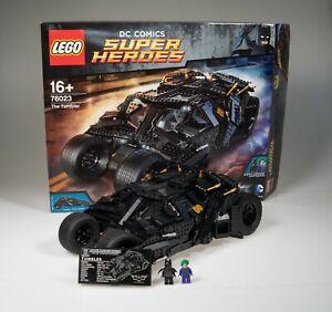 LEGO Super Heroes The Tumbler (76023) Batman Batmobil OVP inkl. Figuren Anleitun
