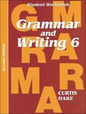 Saxon Grammar & Writing Grade 6 Student Workbook 6th 2nd Edition 2014