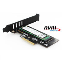 JEYI SK4 M.2 NVMe SSD NGFF TO PCIE X4 Adapter M Key Interface Card Suppor