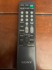 SONY RM-791 TV Remote KV-27TW75, KV-27TW76, KV-32TS35, KV-32TW76, UP880