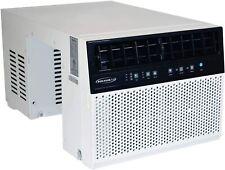 Soleus Air 8,000 BTU 3-Speed Saddle Window Air Conditioner w/ Dehumidifier