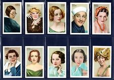 More details for gallaher champions of screen & stage - quality 1934 set