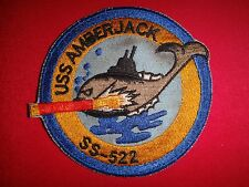 US Navy Patch USS AMBERJACK SS-522 Tench-Class Submarine