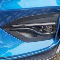 Carbon Look Nebelscheinwerfer Rahmen Ringe ABS Dekor für Ford Focus MK4 ST-LINE