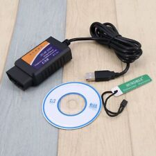 ELM327 OBD2 OBD-II USB Interface Tool Car Diagnostic Scanner Cable