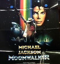 Filmplakat Michael Jackson/Moonwalker