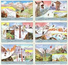 Chromo Liebig Sang. 1765 ITA Le Seggiovie ANNO 1961
