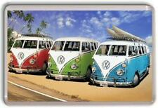VW Classic Camper Vans Fridge Magnet