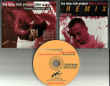 TONY RICH Project Nobody Knows w/ 4 RARE EDITS & INSTRUMENTAL PROMO DJ CD single