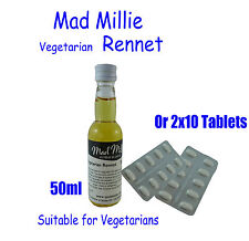 Mad Millie Vegetarian Rennet for Cheese Making