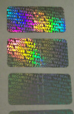 "5000 SECURITY SEAL Hologram Tamper Evident Warranty Void Labels 1/2""x1"""