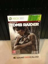 TOMB RAIDER SURVIVAL EDITION - XBOX 360 - NUOVO NEW VERSIONE ITALIANA