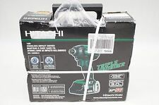 NEW Hitachi WH18DBDL2 18V Li-ion Cordless Brushless Triple Hammer Impact Driver