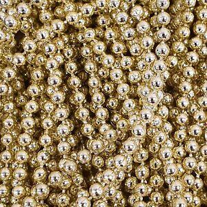 STRING PEARL BEADS 3-10mm Craft Round Ball Trim Sewing Ribbon Strip Chain Per 1M