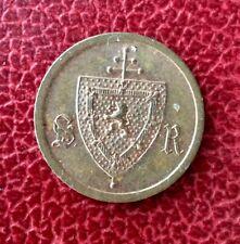 Belgique - Archevêché de Malines - Superbe jeton de 25 Centimes sans date (1888)