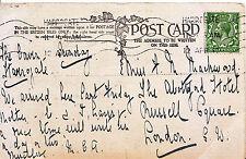 Genealogy Postcard - Mackwood or Mackward - Russell Square - London  464A