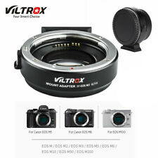 Viltrox EF-EOS M2 Lens Adapter 0.71x Speed Booster for Canon EF Lens to EOS-M