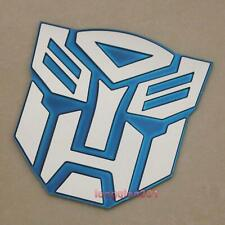 Aluminum 3D Blue Car Badge Sticker Bike Emblem Decal For Transformers Autobot 17