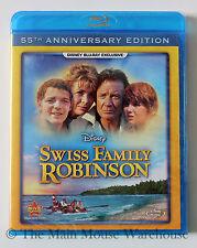 Swiss Family Robinson Island Paradise Pirates Classic Disney Movie on Blu-ray