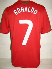 #7 RONALDO PORTUGAL 2010-11  HOME SHIRT JERSEY SIZE S