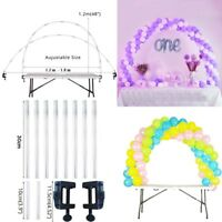 1Set Balloon Arch Balloons Column Stand Base Wedding Birthday Party Decoration