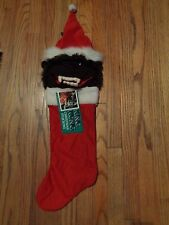 Rare King Kong 1986 Christmas Stocking Universal Studios NWHT Plush
