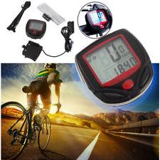 4x LCD Computer Bike Bicycle Cycling Odometer Speed Speedometer Waterproof Meter