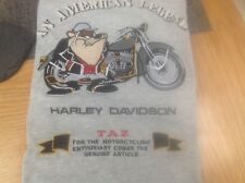 TAZ and Harley DAVIDSON Xl ,by  ACME CLOTHING