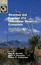 Structure and Function of a Chihuahuan Desert Ecosystem: The Jornada Basin Long