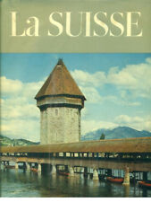 LA SUISSE  MARTIN HURLIMANN OFFICE DU LIVRE FRIBOURG 1959 COLLECTION ATLANTIS