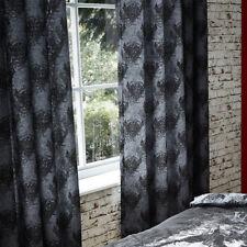 Catherine Lansfield Kids Valiant Knight Eyelet Curtains, Black, 66 x 72 Inch
