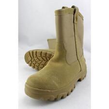 Scarpe da uomo stivali militari beige