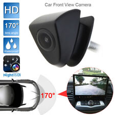 HD Car Front View Camera Night Vision 170 Wide Degrees Logo Embedded for Toyota